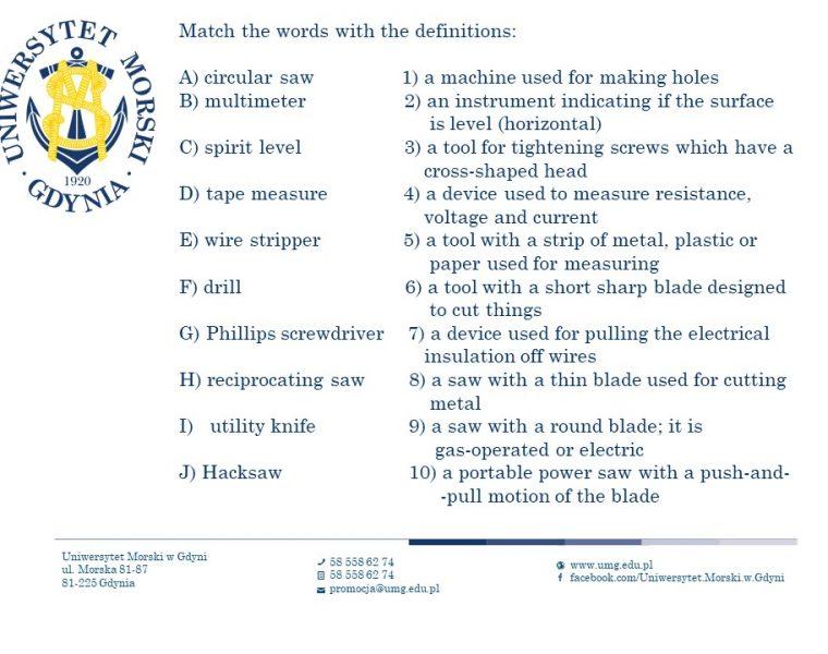 Wydział Elektryczny - język angielski - 11
