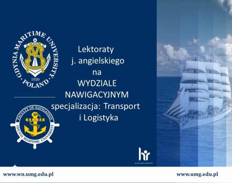 Wydział Nawigacyjny - język angielski - 1
