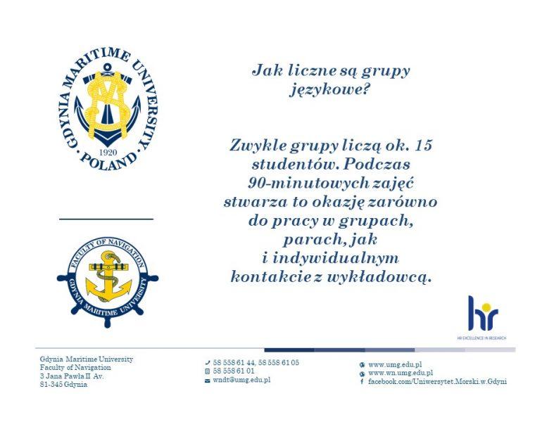 Wydział Nawigacyjny - język angielski - 5